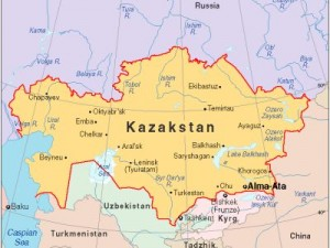 Harta Kazakhstan