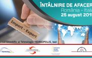 Misiune Economica Romania - Italia, 25 august 2015, Parcul Stiintific si Tehnologic TEHNOPOLIS, Iasi [1]