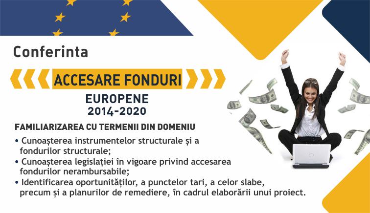 """SLIDER Conferinta – ,,Avantajele şi dezavantajele accesării fondurilor Europene"""" [1]"""