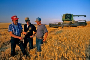 Three Generations of Farmers, The Morgan's of Colfax, Washington, USA